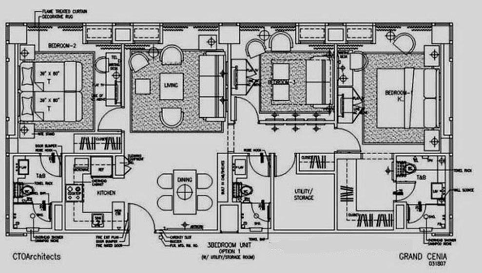 Bedroom generator for House layout generator