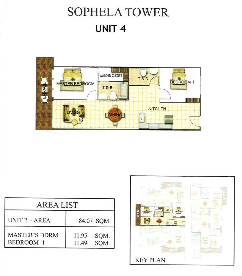 Sophela tower condominium cebu condominium sophela tower for 4 unit condo plans