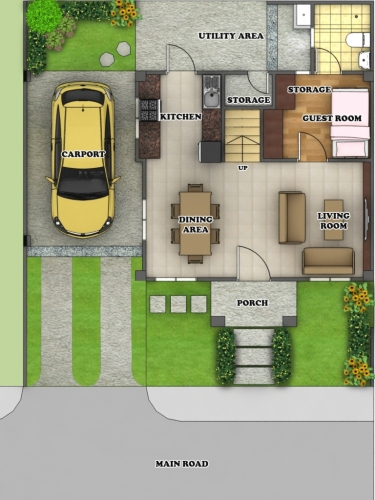 3million Pesos Home Design In The Philippines: Nichols Park,Cebu House For Sale At Nichols Park,Guadalupe